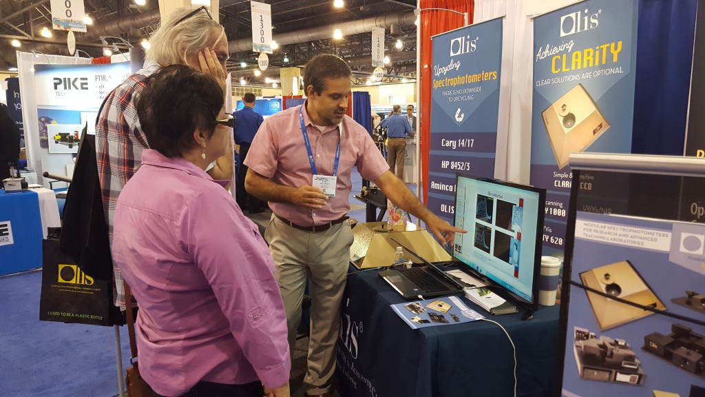 ACS 2016 booth in action